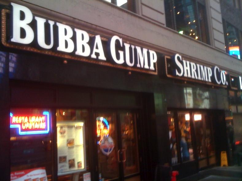 PRODUCT placement_bubbagump